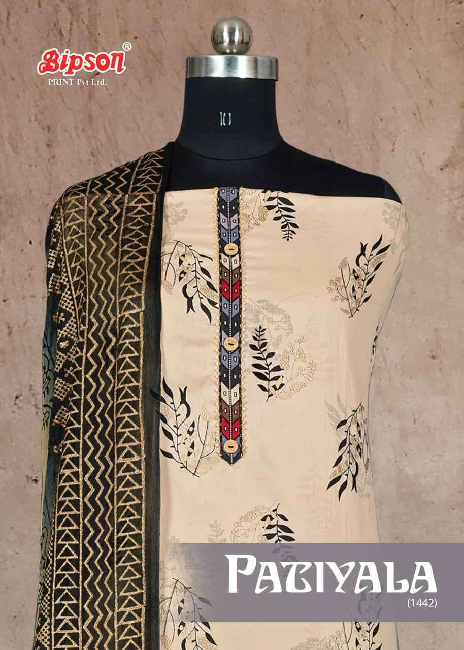 Bipson Patiyala Queen 1442 Cotton Ladies Suit Wholesaler