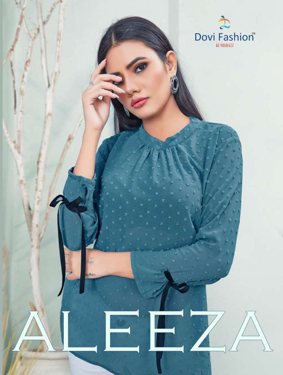 Dovi Fashion Aleeza Fancy Short Top Collection In Wholesale