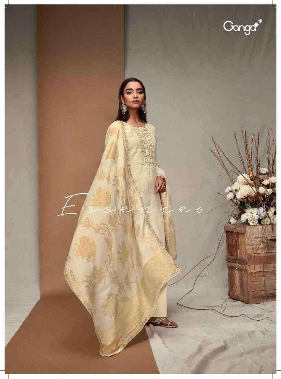 Ganga Fashion Essences Exclusive Cotton Designer Suit Wholesaler