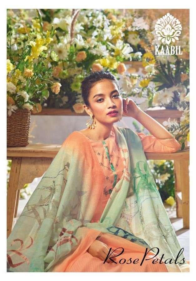 Kaabil Rose Petals By Karachi Prints Exclusive Designer Cotton Suits Exporter