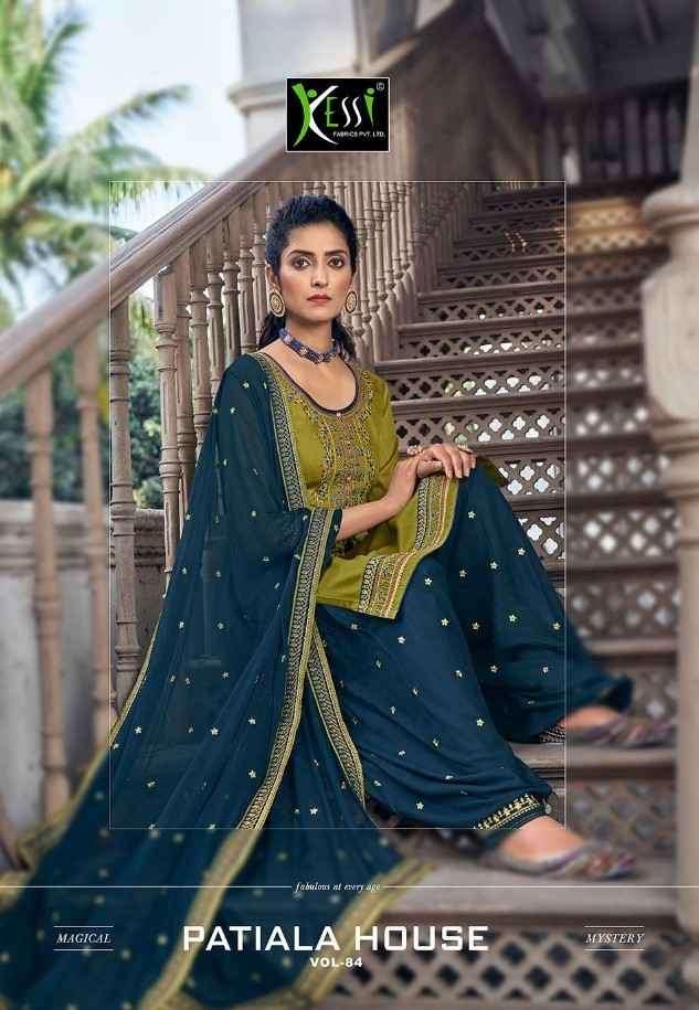 Kessi Patiala House Vol 84 Punjabi Patiala Suit Catalog Dealer