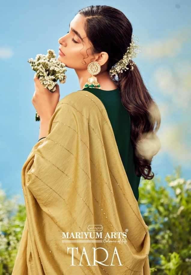 Mariyum Arts Tara Rayon Cotton With Work Readymade Suits Supplier