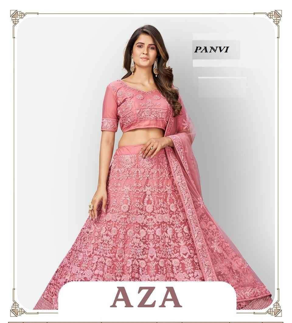 Panvi Aza 1085 to 1091 Series Designer Heavy Work Lehenga Choli Catalog Dealer
