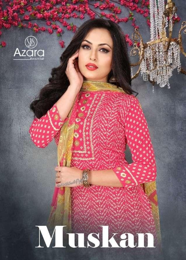 Radhika Azara Muskan French Crepe Salwar Kameez Catalogue Online Dealer