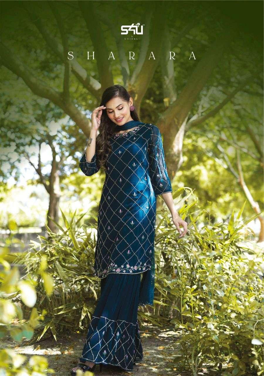 S4U By Shivali Sharara Designer Sharara Dress Latest Catalog Buy Online
