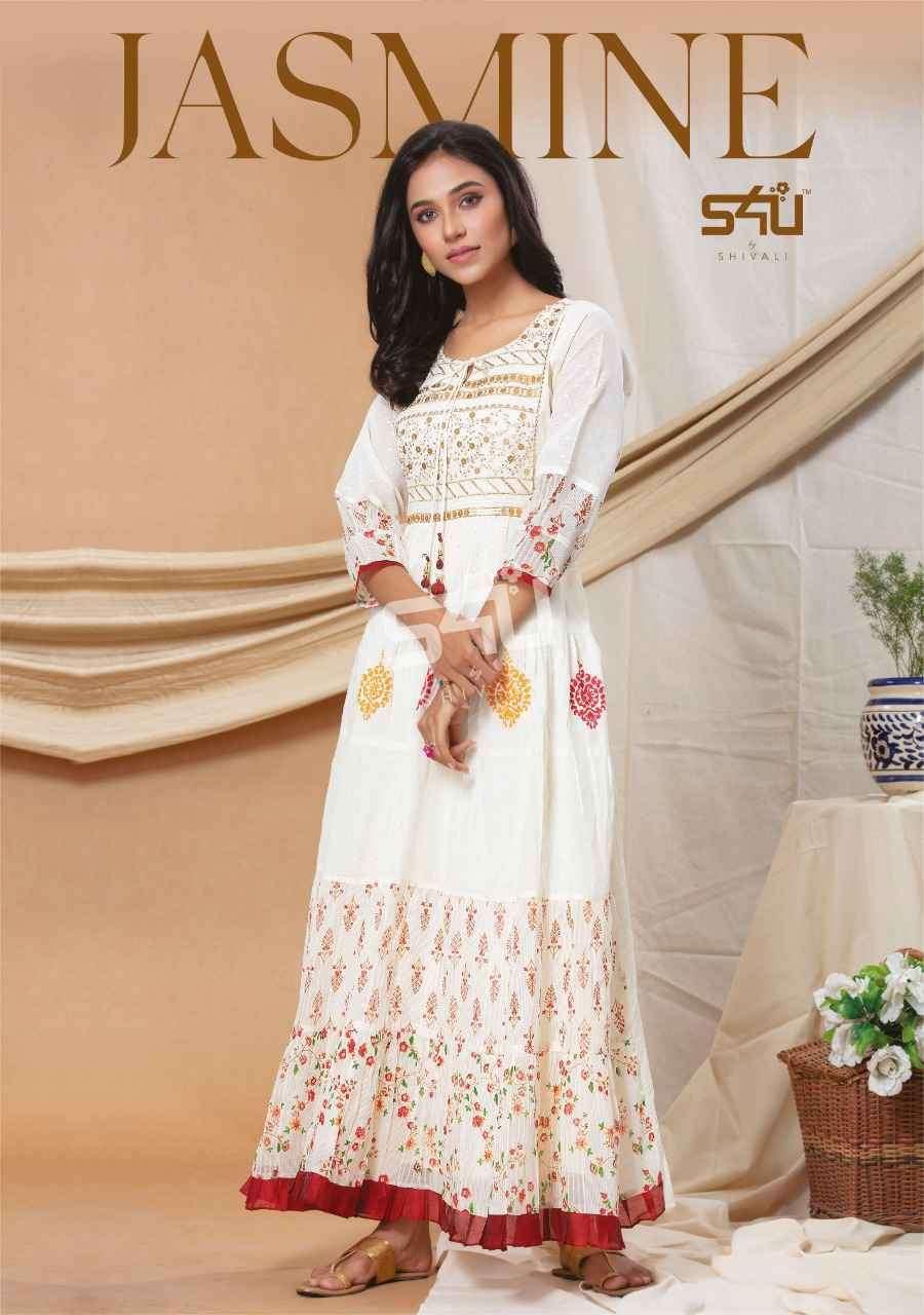 S4U Jasmine By Shivali Designer Long Kurti Gown Collection