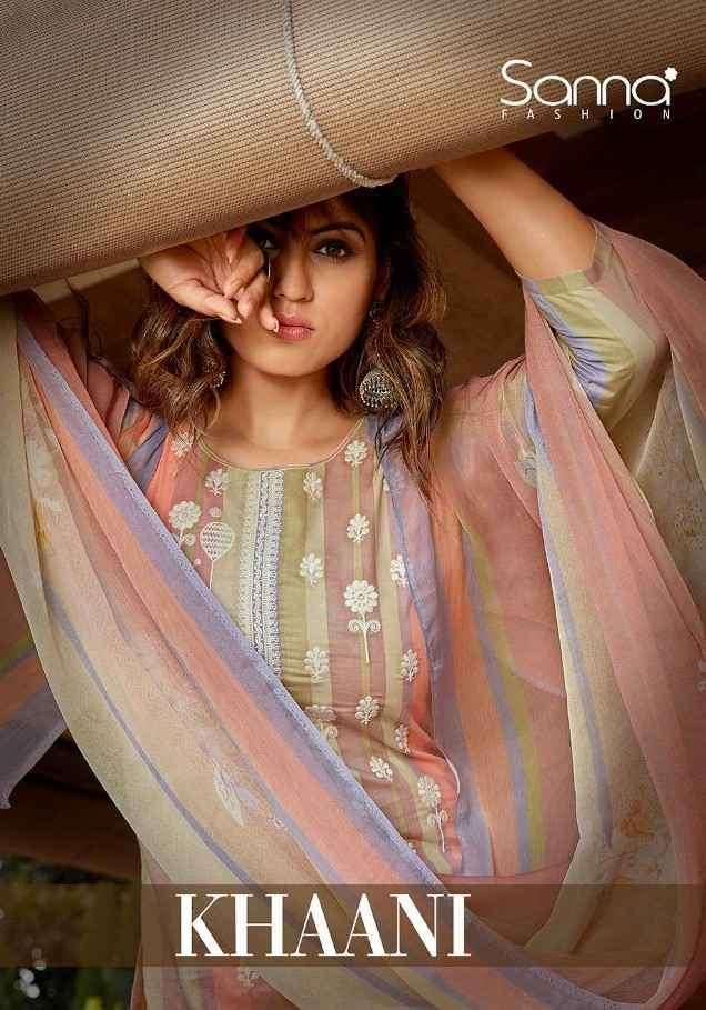 Sanna Fashion Khaani Cotton Digital Print Ladies Suits Wholesaler India
