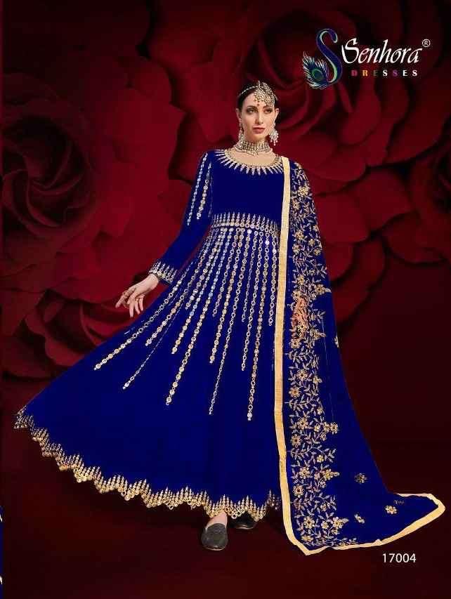 Senhora Agha Noor 17004 Colors Designer Anarkali Salwar Suit Catalog supplier