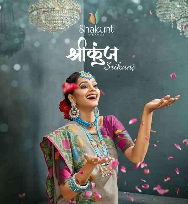 Shakunt Shreekung Exclusive Cotton Silk Saree Catalog Supplier
