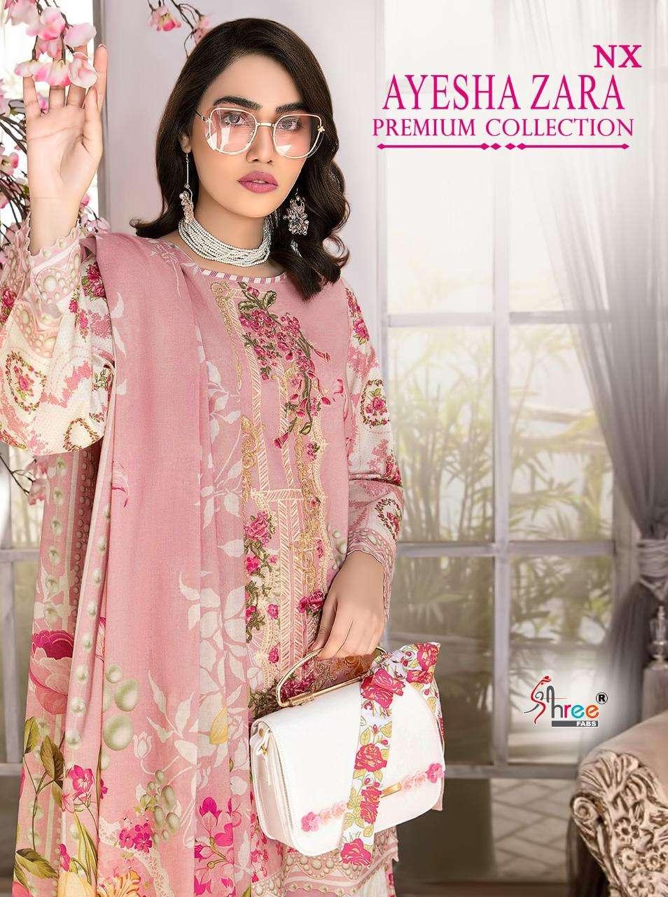 Shree Fabs Ayesha Zara Premium Collection NX Pakistani Suits Catalogue
