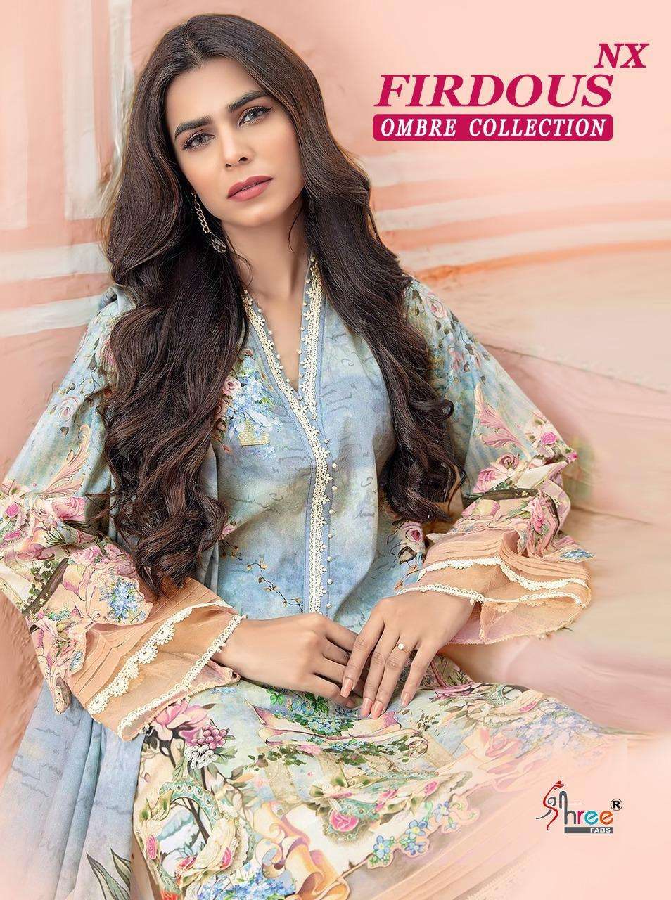 Shree Fabs Firdous Ombre Collection NX Pakistani Printed Suits