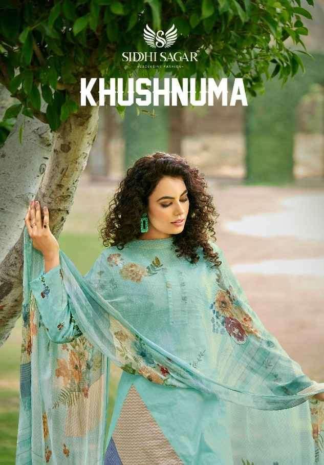 Siddhi Sagar Khushnuma Digital Print Cotton Suit Catalog Wholesaler