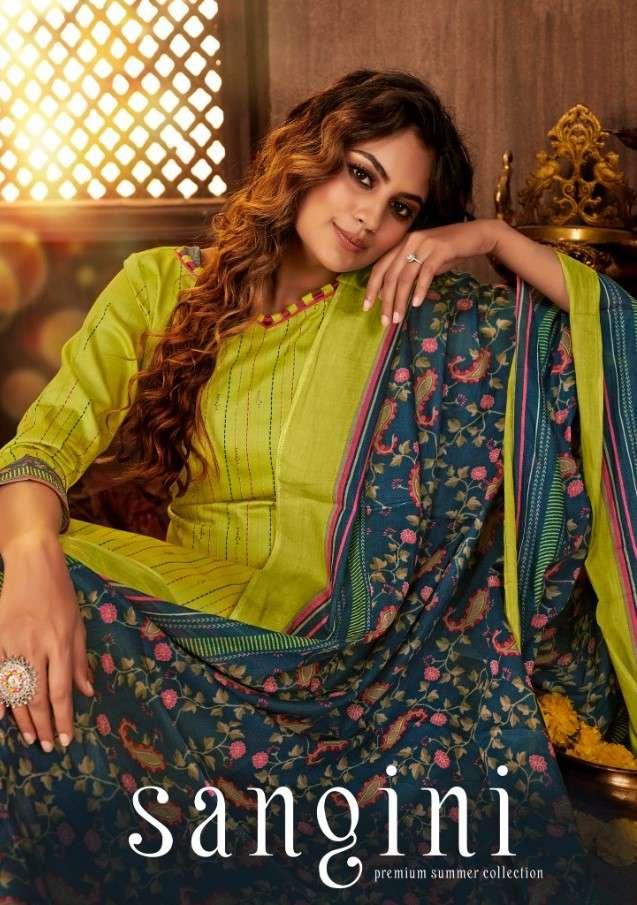 Siyona Sangini Jam Silk Cotton Salwar Kameez In Best Wholesale Price