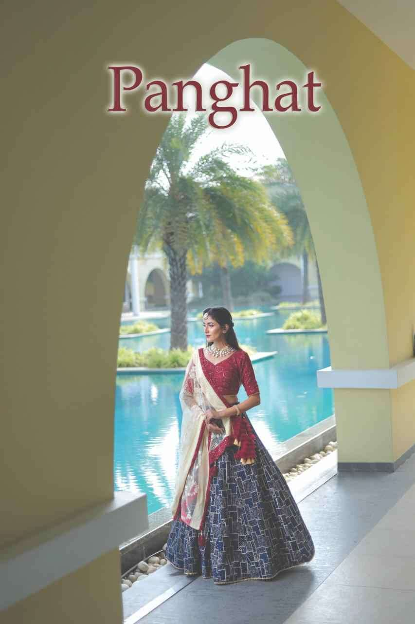 Stylishta Panghat Designer Exclusive Readymade Lehenga Choli Catalog in Wholesale price