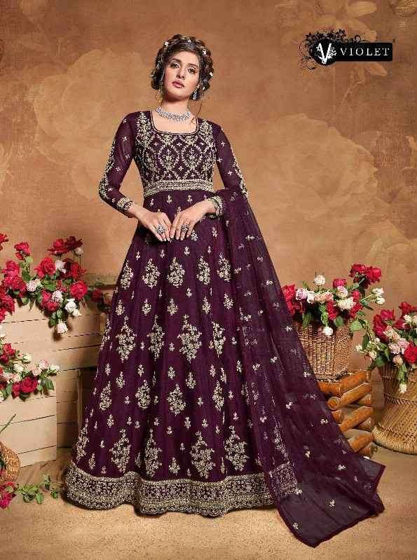 Swagat 5105 and 5109 Colors Designer Party Wear Dress Catalog Supplier