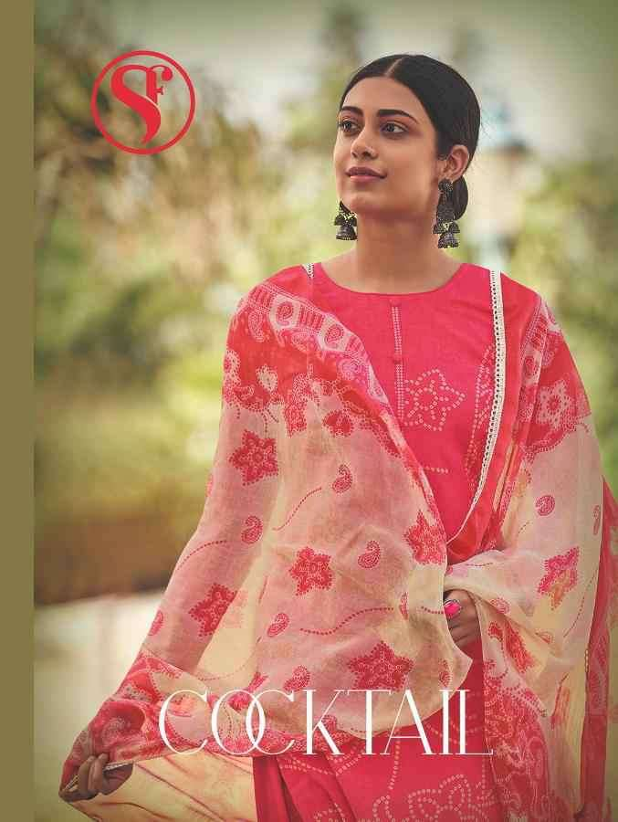 Sweety Cocktail Cambric Cotton Printed Suit Collection
