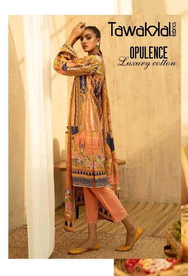 Tawakkal Opulence Luxury Cotton vol 3 Printed Dress Material In Wholesale