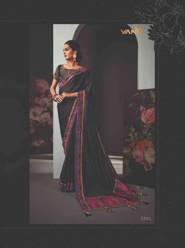 Vanya Vol 22 3201 to 3209 Series Designer Party Wear Saree Catalog Supplier
