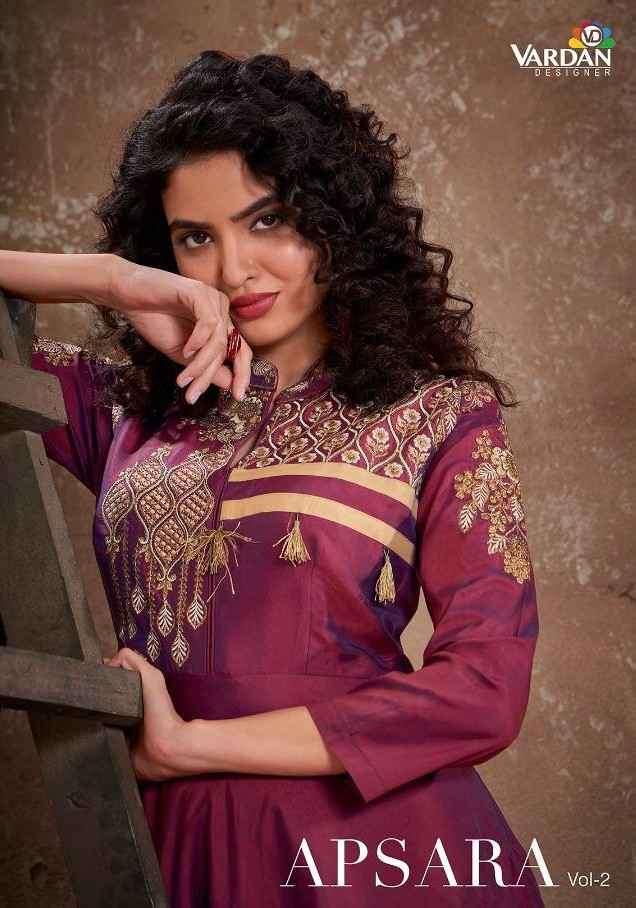 Vardan Apsara Vol 2 Designer Readymade Anarkali Dress Collection