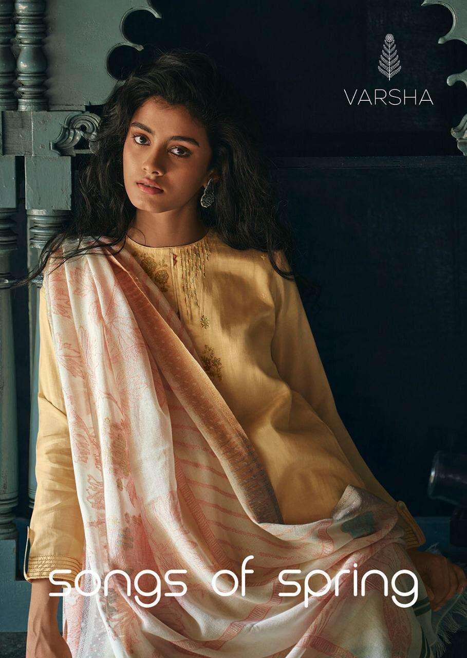 Varsha Songs oF Spring Exclusive Muslin Designer Suits Catalog Wholesale
