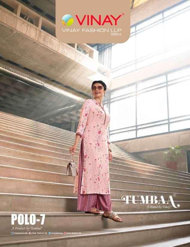 Vinay Fashion Tumbaa Polo Vol 7 Designer Plazzo Set Catalog Buy Online