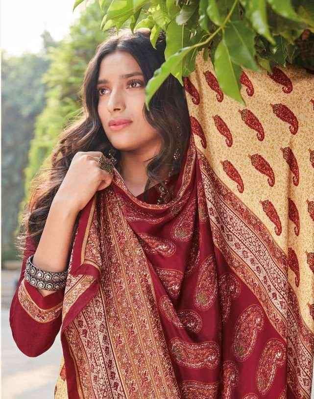 Vipul Heritage Silk Vol 2 Fancy Printed Crepe Saree Catalog Wholesaler