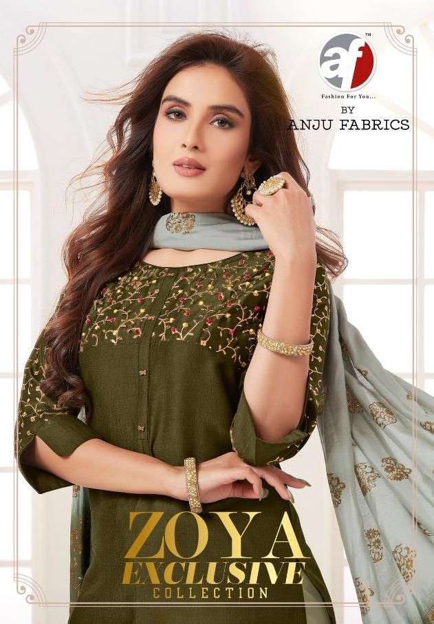 AF Stock Out Zoya Exclusive Designer 3 Piece Readymade Collection