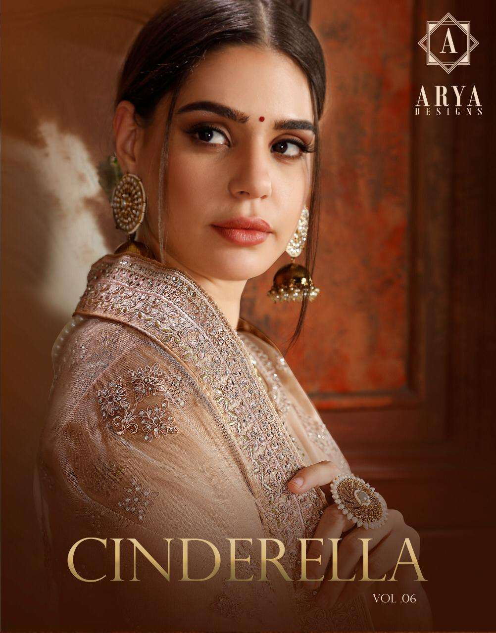 Arya designs Cinderella Vol 6 3301 to 3326 Series Lehenga Choli New Designs