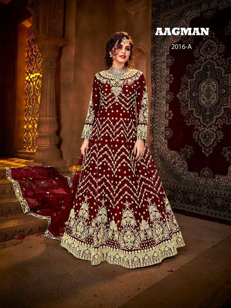 Avighaya Aagman Designer Heavy Work Anarkali Dress Catalog Wholesaler