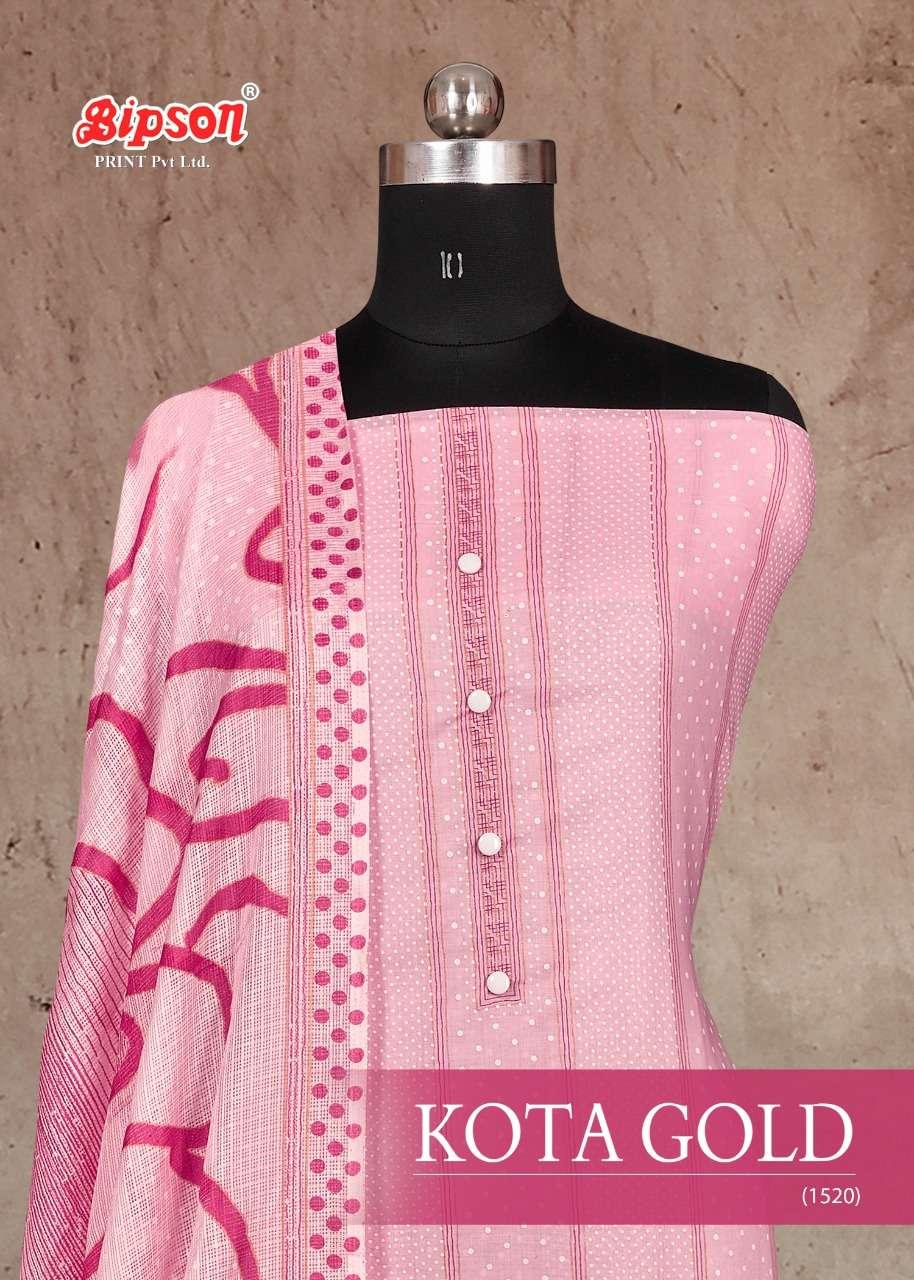Bipson Kota gold 1520 Cotton Salwar Kameez Catalog Wholesaler