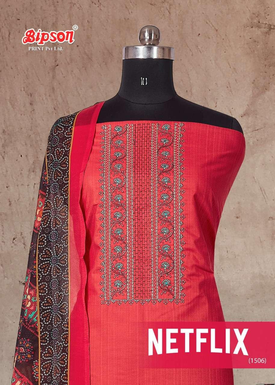Bipson Netlix 1506 Stylish Cotton Suit Catalog Wholesaler