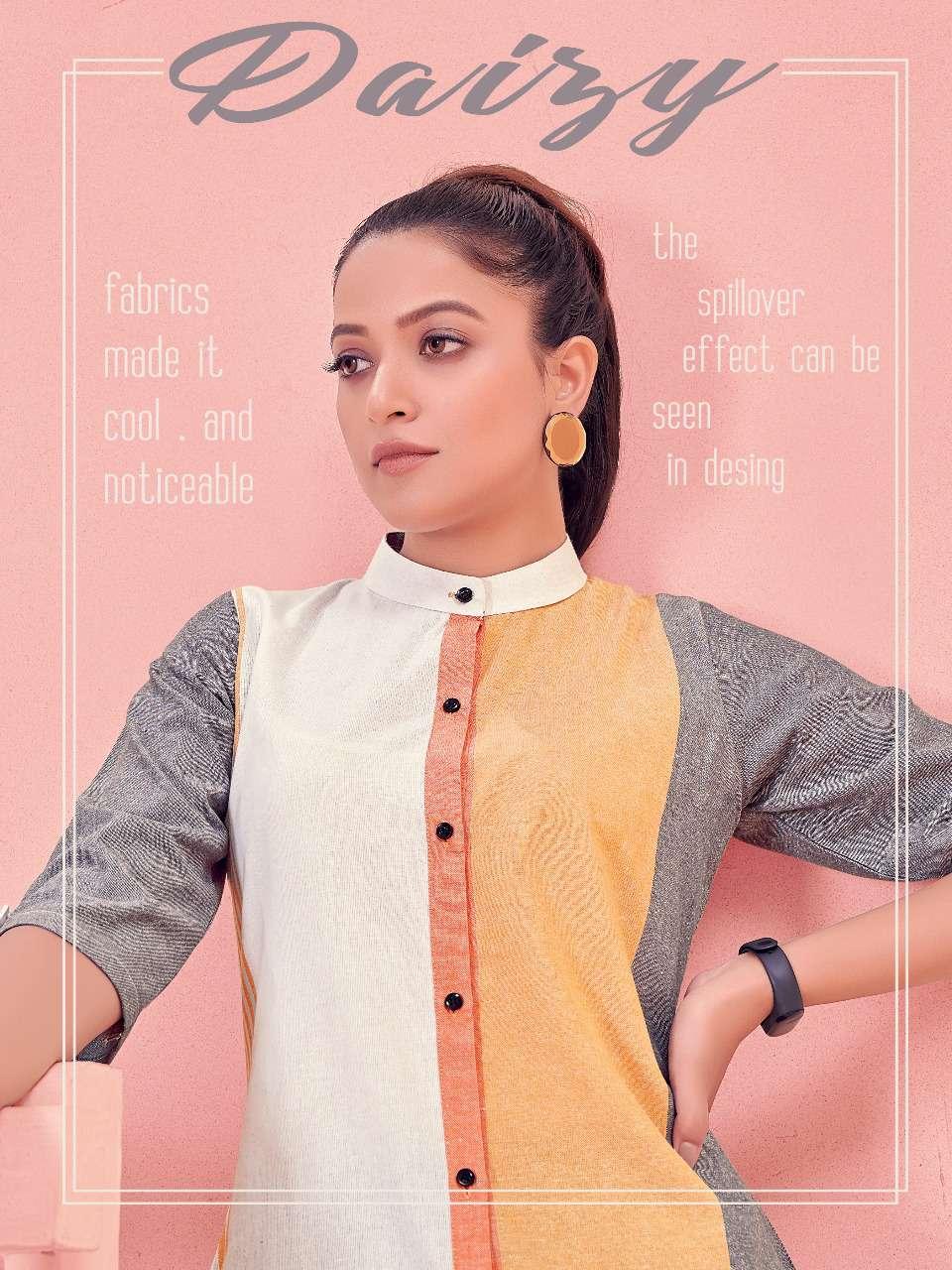 Fashion Galleria Daisy Vol 1 Khadi Fancy Kurti New Designs