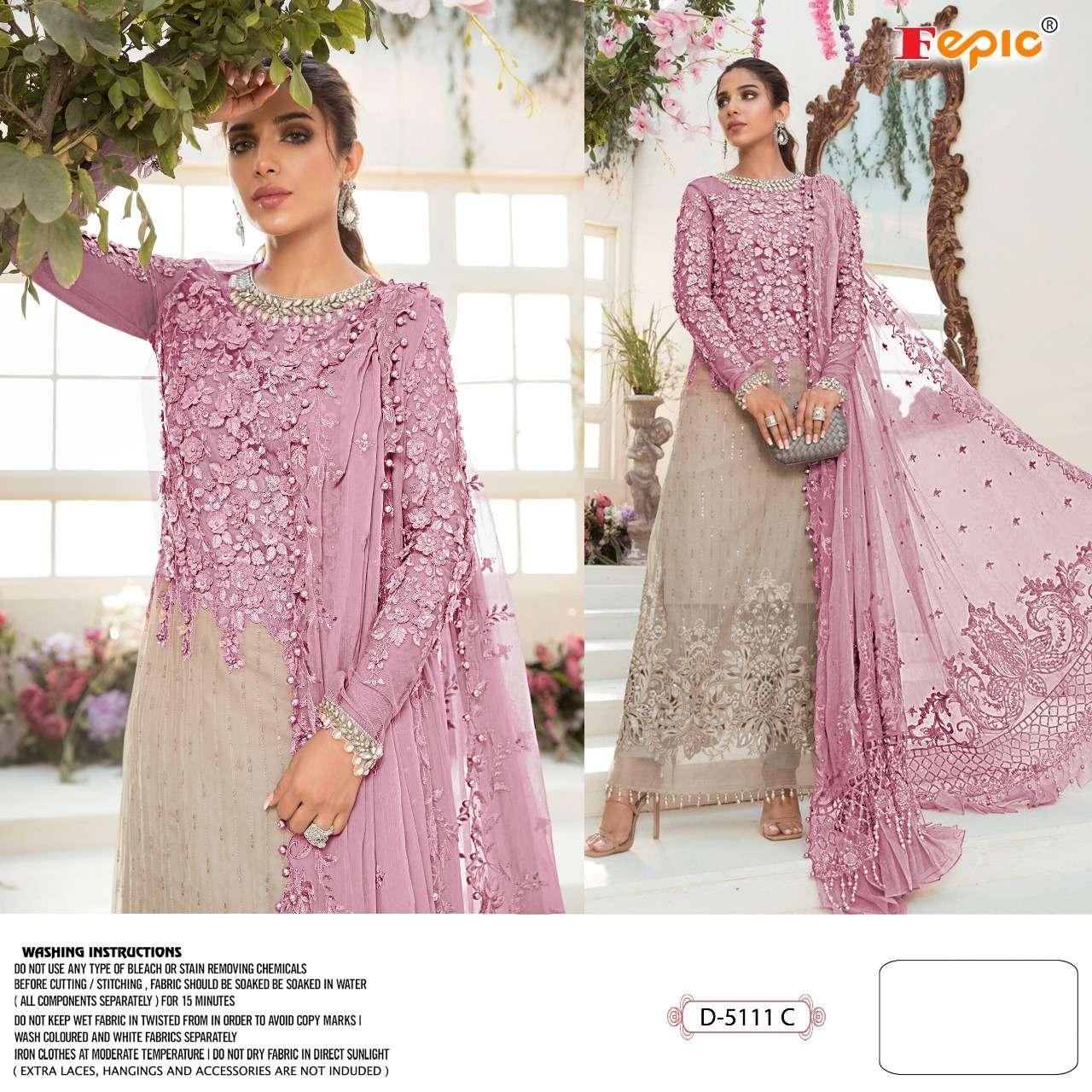 Fepic C 5111 Colors Maria B Colour Buster fancy Pakistani Suit New Designs