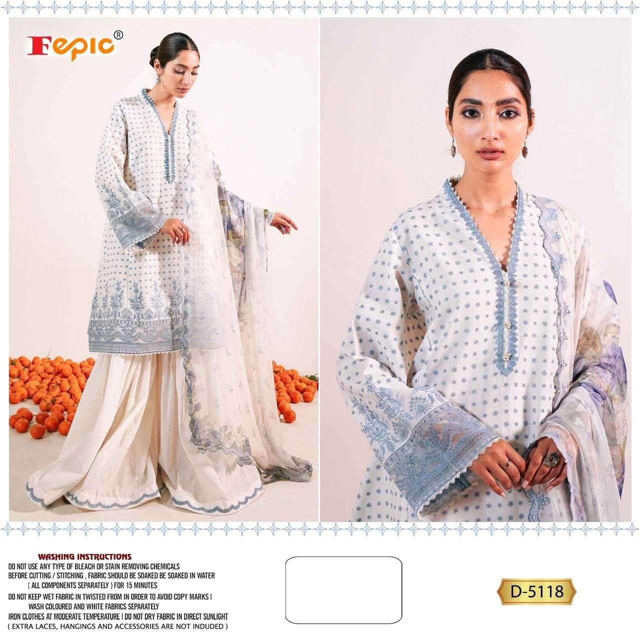 Fepic Rosemeen 5118 Colors Cotton Pakistani Salwar Suit In Wholesale Price