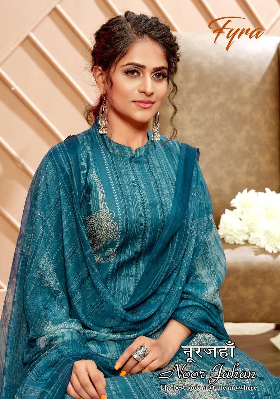 Fyra Noor Jahan By Alok Suit Digital Suit Cotton Suit Wholesaler