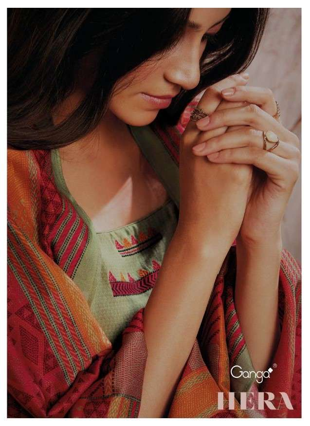 Ganga Fashion Hera Exclusive Cotton Salwar Suit Catalog Wholesaler