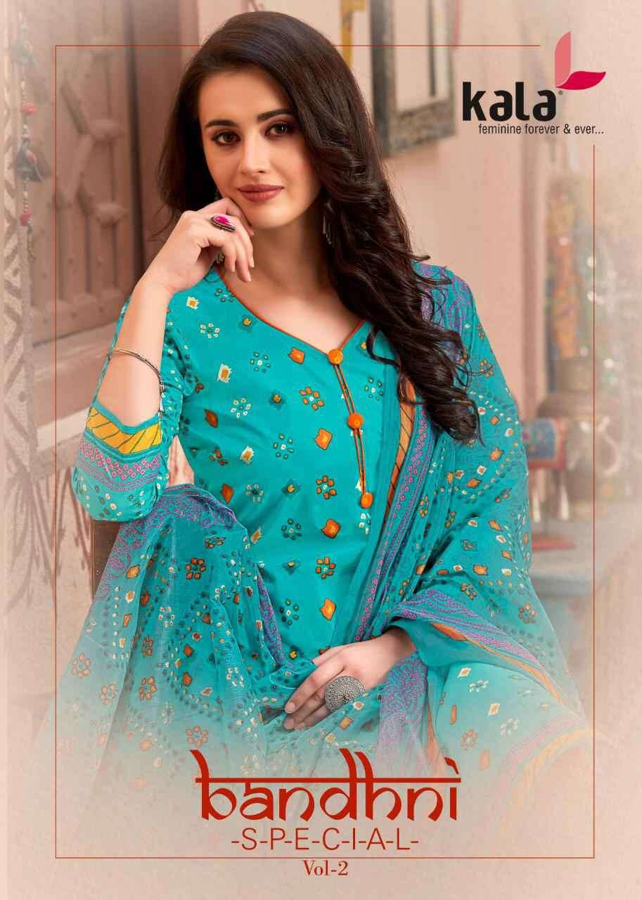 Kala Bandhani Special Vol 2 Cotton Daily Wear Suit Affordable Price