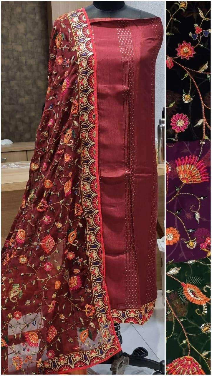 Kala NC Exclusive Upada Silk Salwar Suit Wholesale