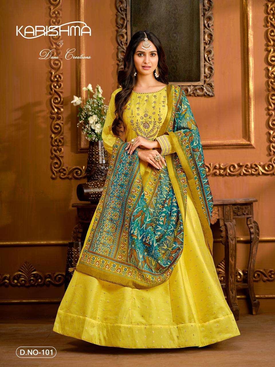 Karishma Vol 1 Designer Readymade Anarkali dress Catalog Supplier