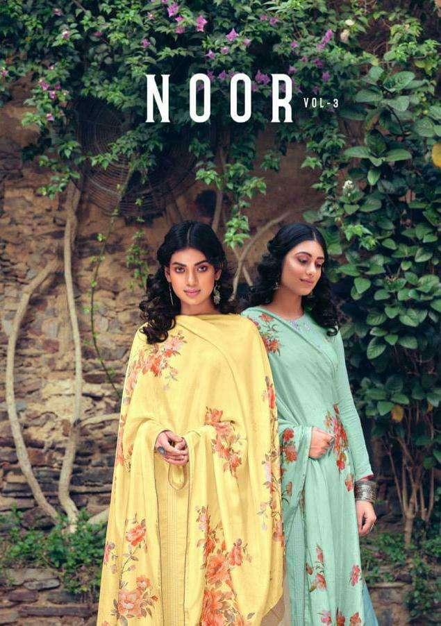 Karma Noor Vol 3 Designer Muslin Salwar Kameez Catalog Dealer in Surat