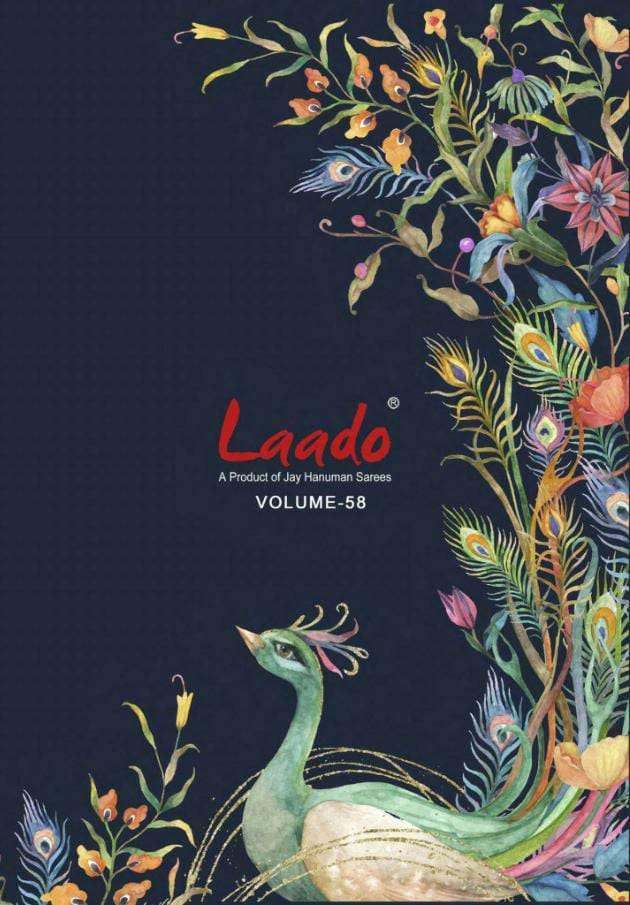 Laado Vol 58 Printed Cotton Dress material Catalog Supplier