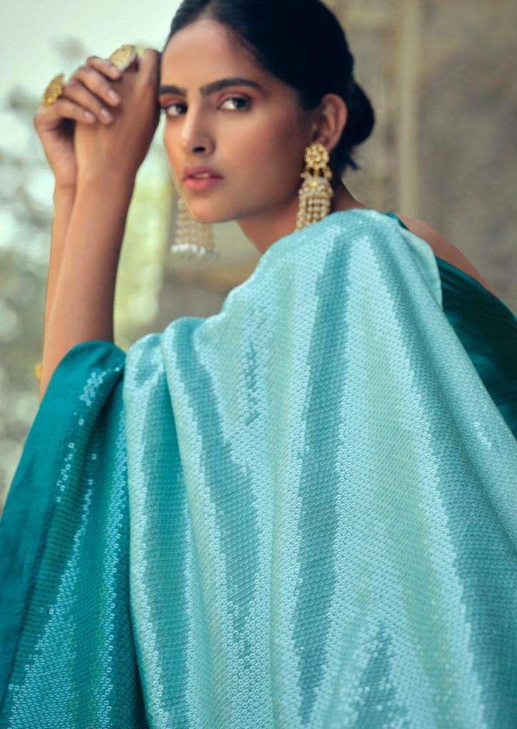LT Fabrics Heer Exclusive designer Sequence Work Cotton Saree Catalog Wholesaler