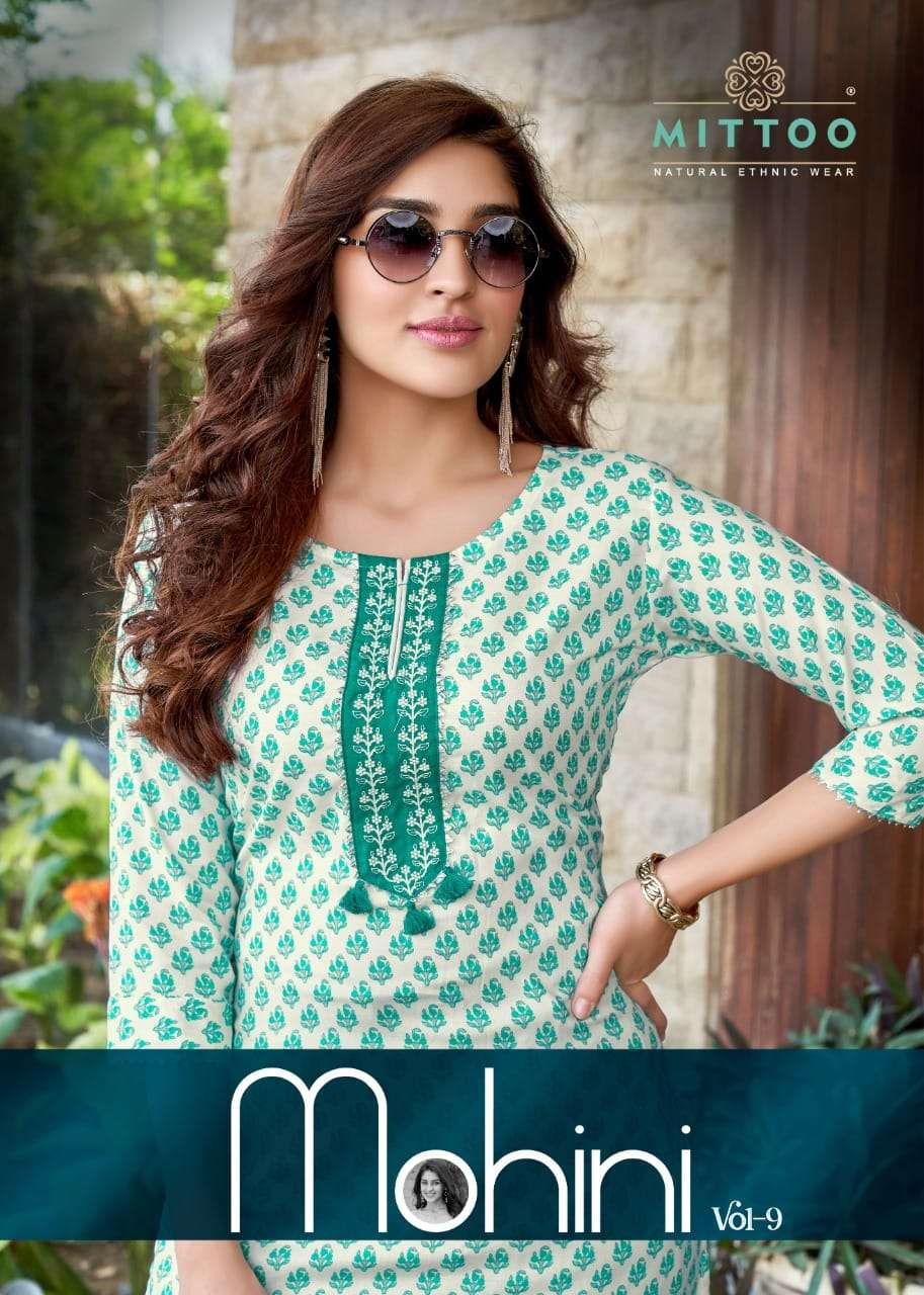 Mittoo Mohini Vol 9 Rayon Print Pant In Wholesale Price
