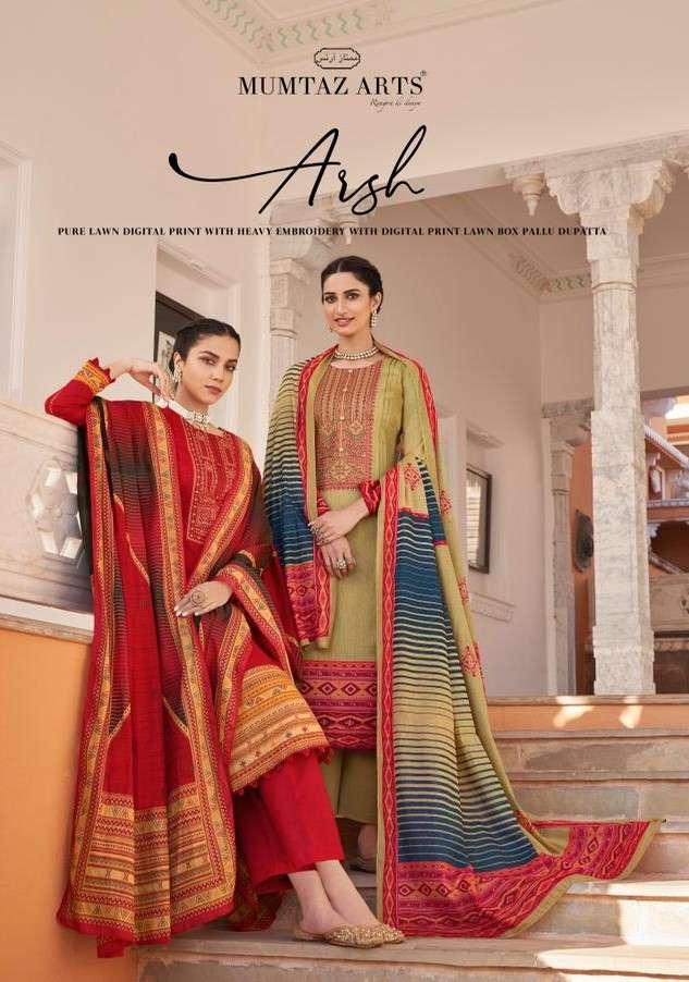 Mumtaz Arts Arsh Exclusive Karachi Cotton Salwar Kameez Latest Catalog Buy Online
