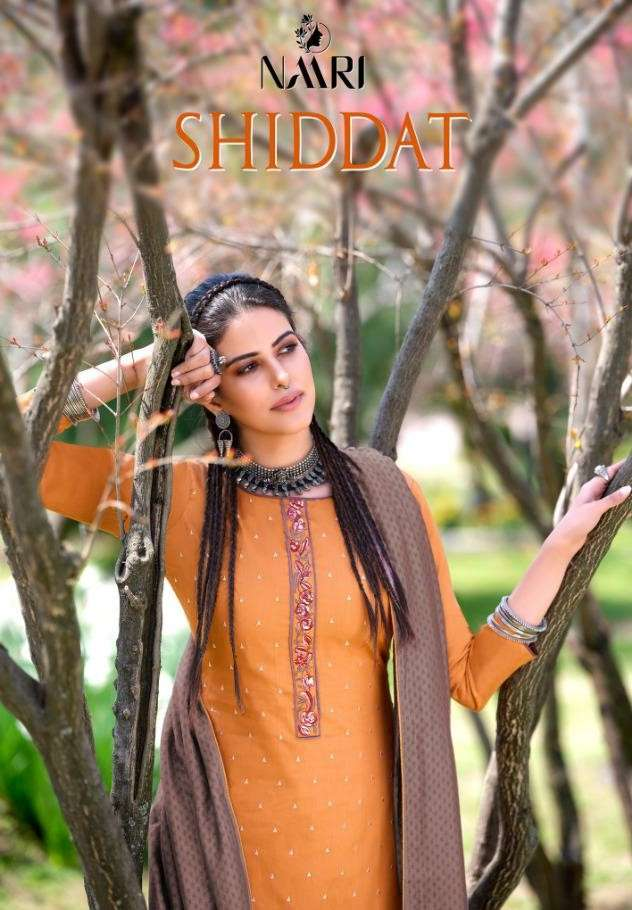 Naari Shiddat Exclusive Cotton Silk Salwar kameez Catalog Supplier