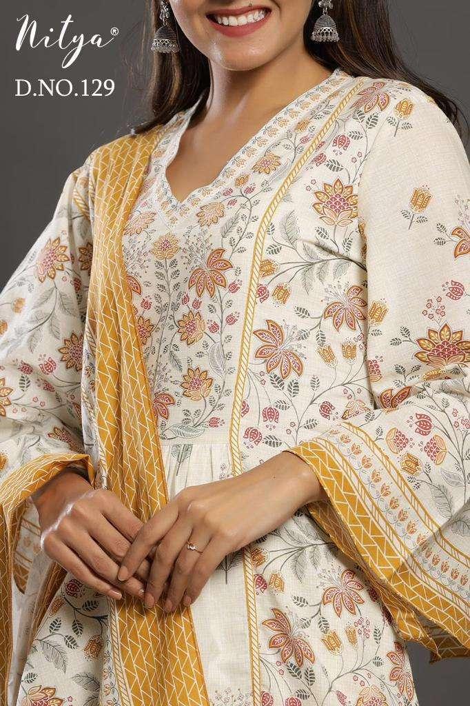 Nitya 129 Size Set Salwar Kameez Ready to Wear In Wholesale