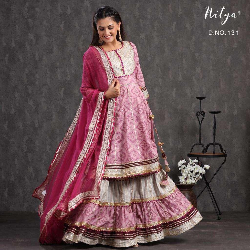 Nitya 130 and 131 Readymade Designer Lehenga Style Collection