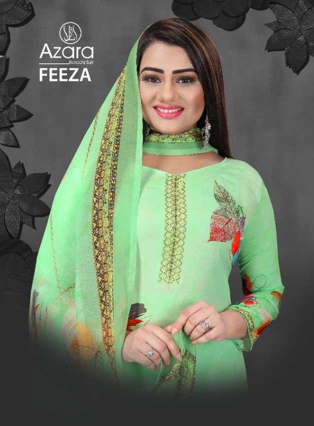 Radhika Azara Feeza Digital Print crepe Suit Catalog Wholesale Price