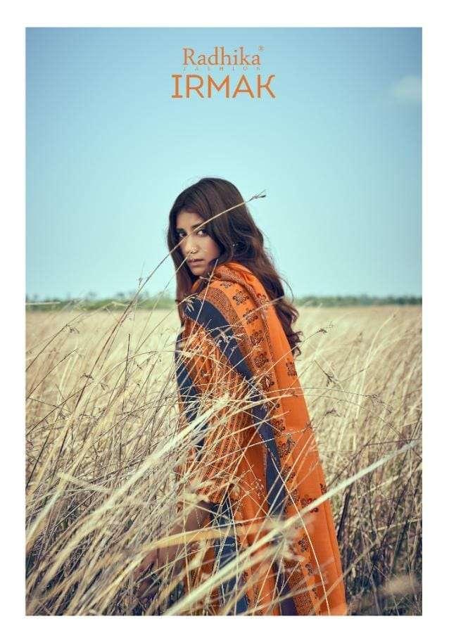 Radhika Irmak designer Print Cotton ladies Suit New catalog Buy Online