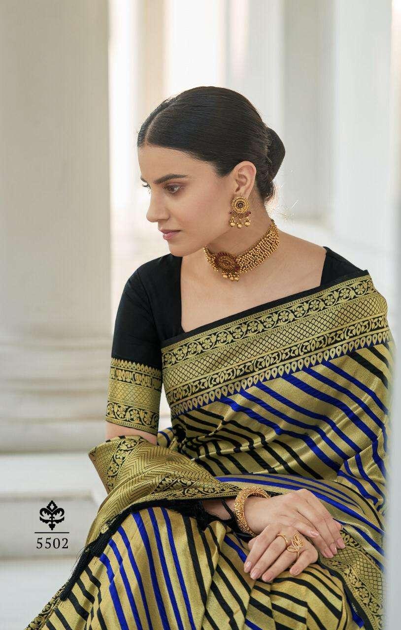 Rajyog Ananya Silk Exclusive Pure Silk Saree catalog Wholesaler